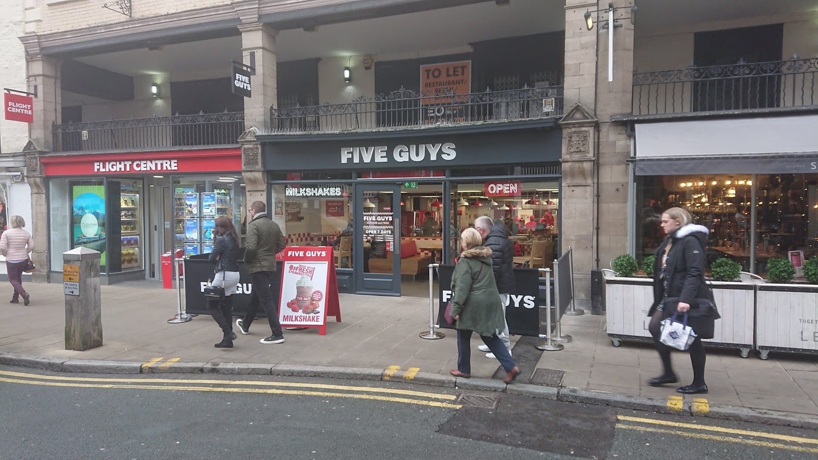 Chester 46 Bridge St Five Guys